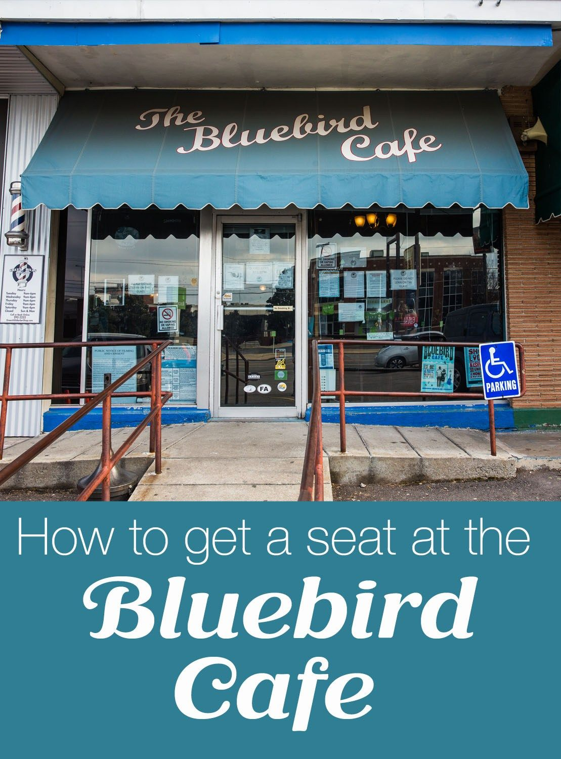 How to Get a Seat at the Bluebird Cafe | United States | Pinterest ...