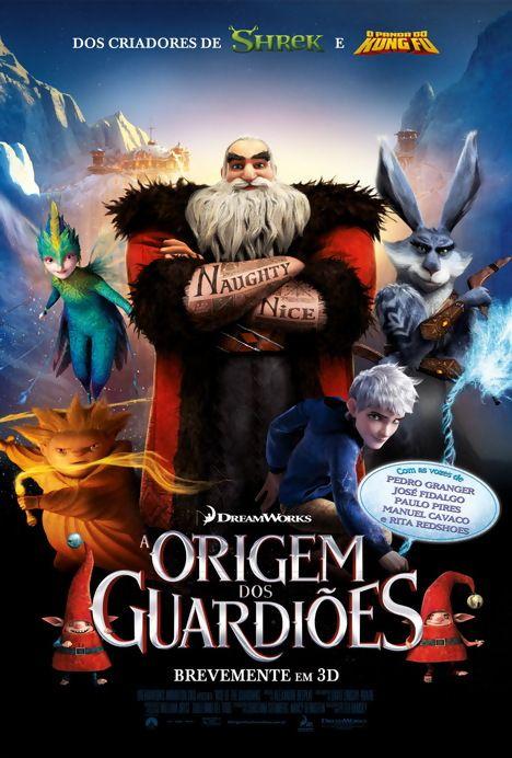 A Origem Dos Guardiões Ascensão Dos Guardiãos Filmes De Natal Filmes