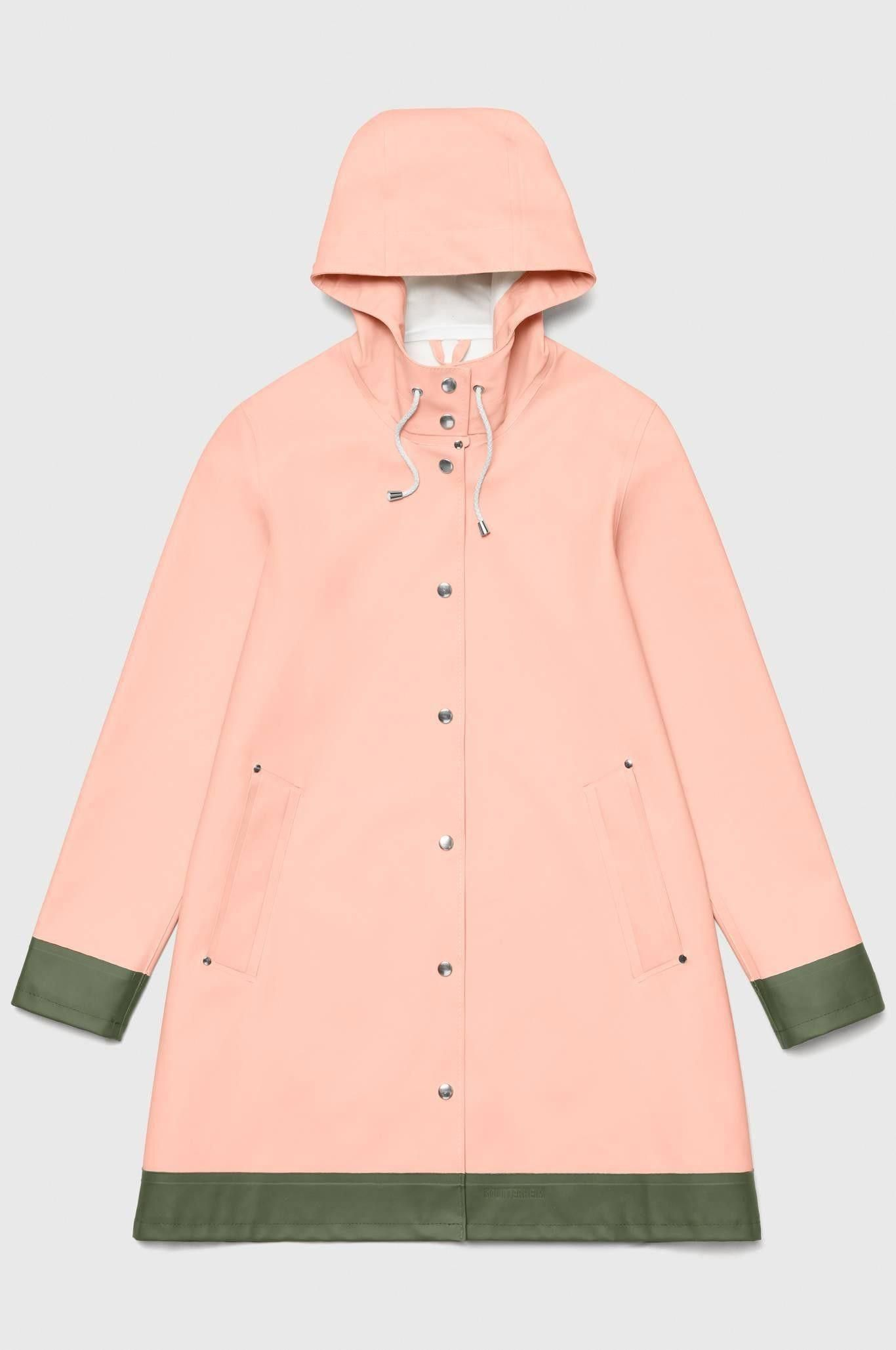 With a beautiful aline cut the mosebacke raincoat for women is a