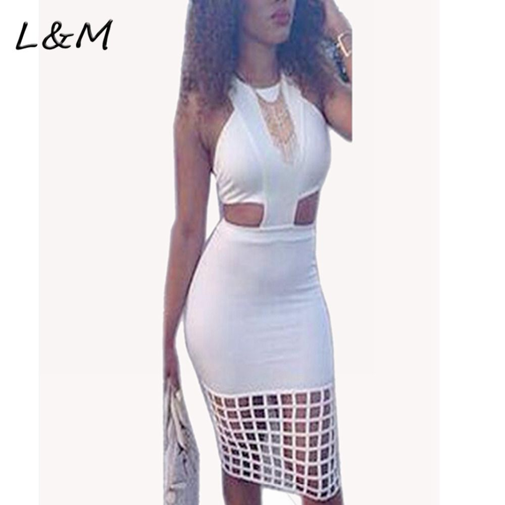 New 2017 Arrive Sexy O Neck Tank Sleeveless Cut-out