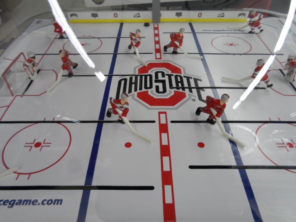 Ohio State Super Chexx Bubble Dome Hockey Tables Hockey Bubbles Games Images