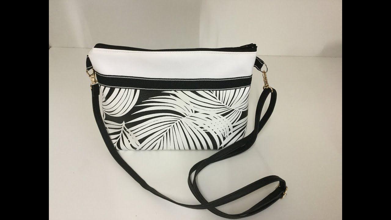 6526b28aa0 Coudre un petit sac à bandoulière en similicuir - Tuto Couture Madalena -  YouTube