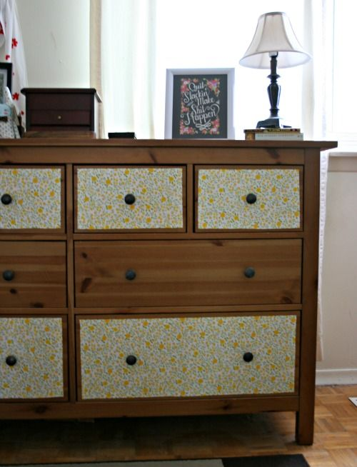 ugly kitchen cabinets my dresser re vamp contact paper on the drawers stuff 3001