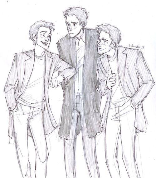 Trevor, Damon, Ethan