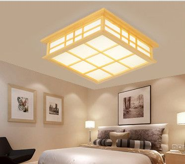 Japanese Style Wooden Ceiling Lamp Price 180 99 Free