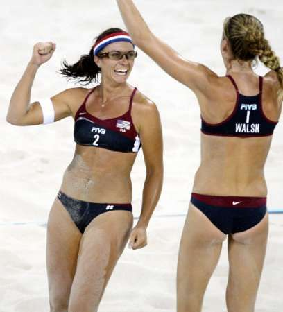 Kerri Walsh Misty May Bing Images Female Athletes Beach Volleyball Women Volleyball