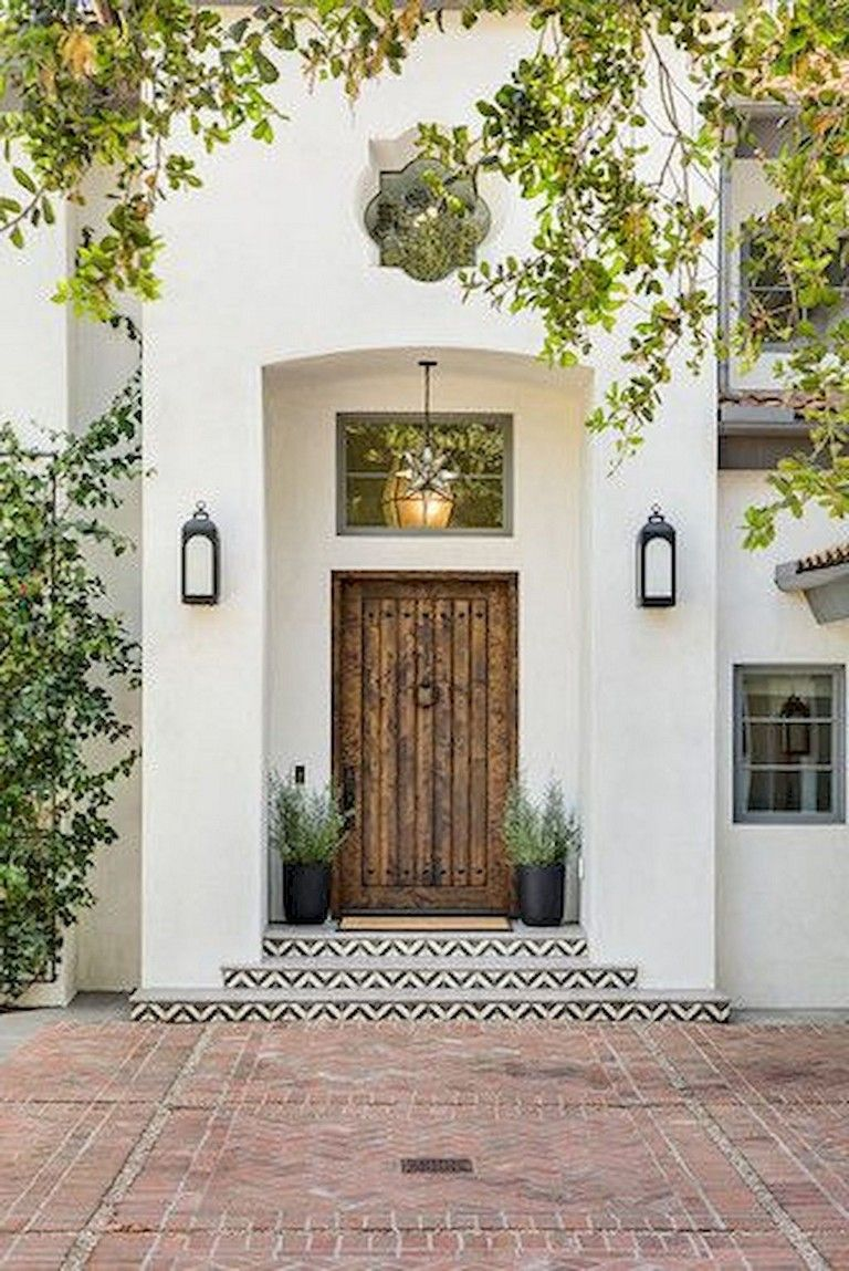 Photo of 100+ Brilliant Front Door Decorating Ideas