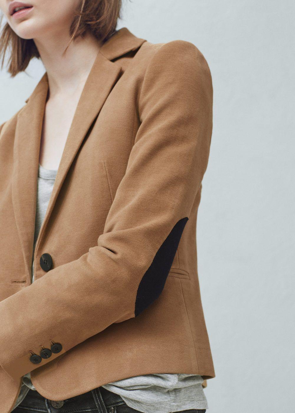 82f6bfc377ab8c Veste coton coudières Printemps Été 2016, Veste, Blazers Pour Femmes,  Vêtements Couleur Mangue