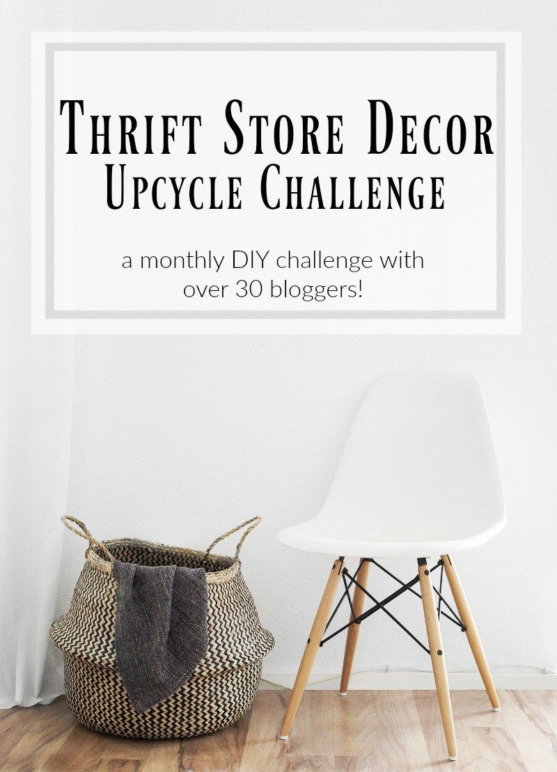 Farmhouse Style Inspired Vase {Thrift Store Upcyle}