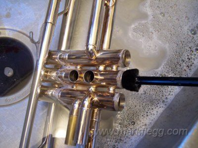 How To Clean Your Trumpet Trumpet Trumpets Cleaning