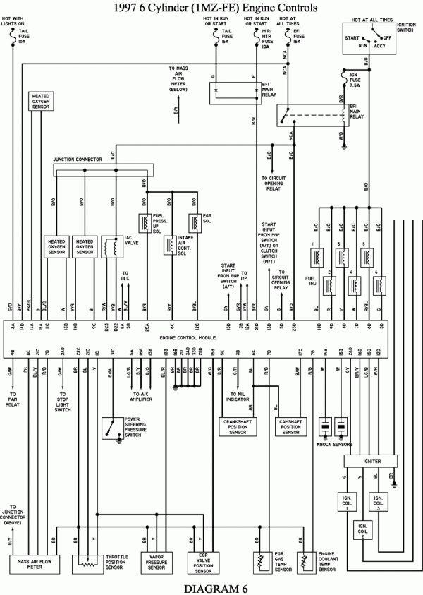 16 1996 Toyota Camry Engine Wiring Diagram Engine Diagram Wiringg Net Toyota Camry Camry Toyota