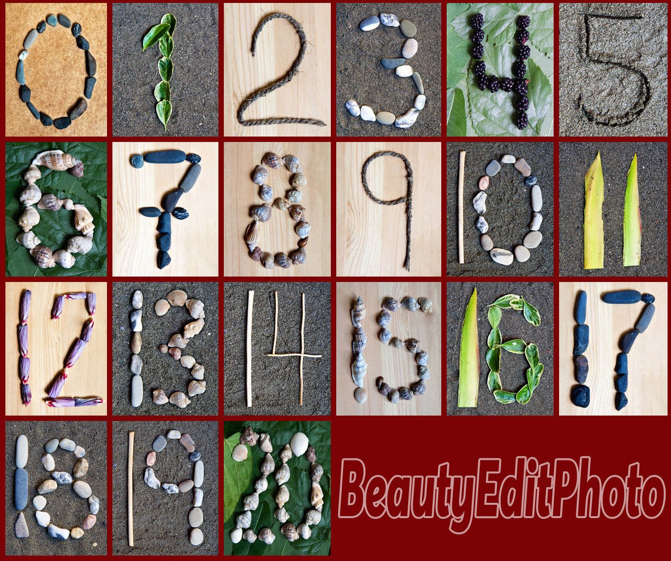 Nature Themed Numbers Wall Art Alphabet Pictures Classroom Numbers Letters In Nature Alphabet Wall Decor Photo Numbers Abc Wall Letters In 2020 Nature Themed Alphabet Wall Decor Alphabet Nursery Art