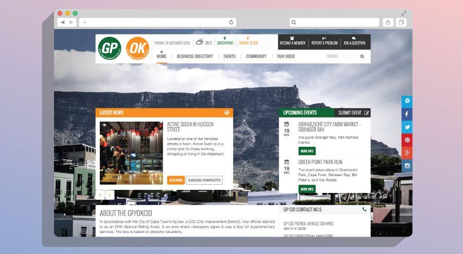 Gpok Cid Website Design Cape Town Website Design Design Development Web Design