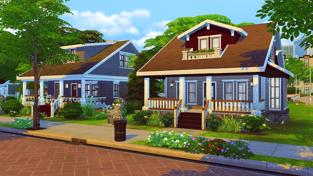 jenba-sims - Newlyn Hills is a completely CC-free save file