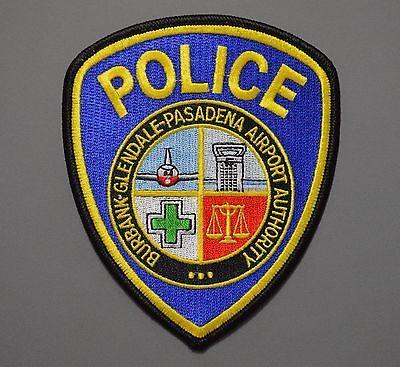 Burbank Glendale Pasadena California Airport Police Patch 1 Police Patches Police Burbank