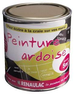 Peinture Ardoise 0l5 Base A Teinter Magasin De Bricolage
