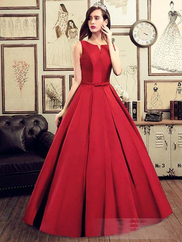 Aliexpress Com Buy Hot Sell Long Prom Dresses 2016 Draped Wedding Dinner Dress Simple Red Glamorous Evening Dresses Cheap Prom Dresses Satin Evening Dresses