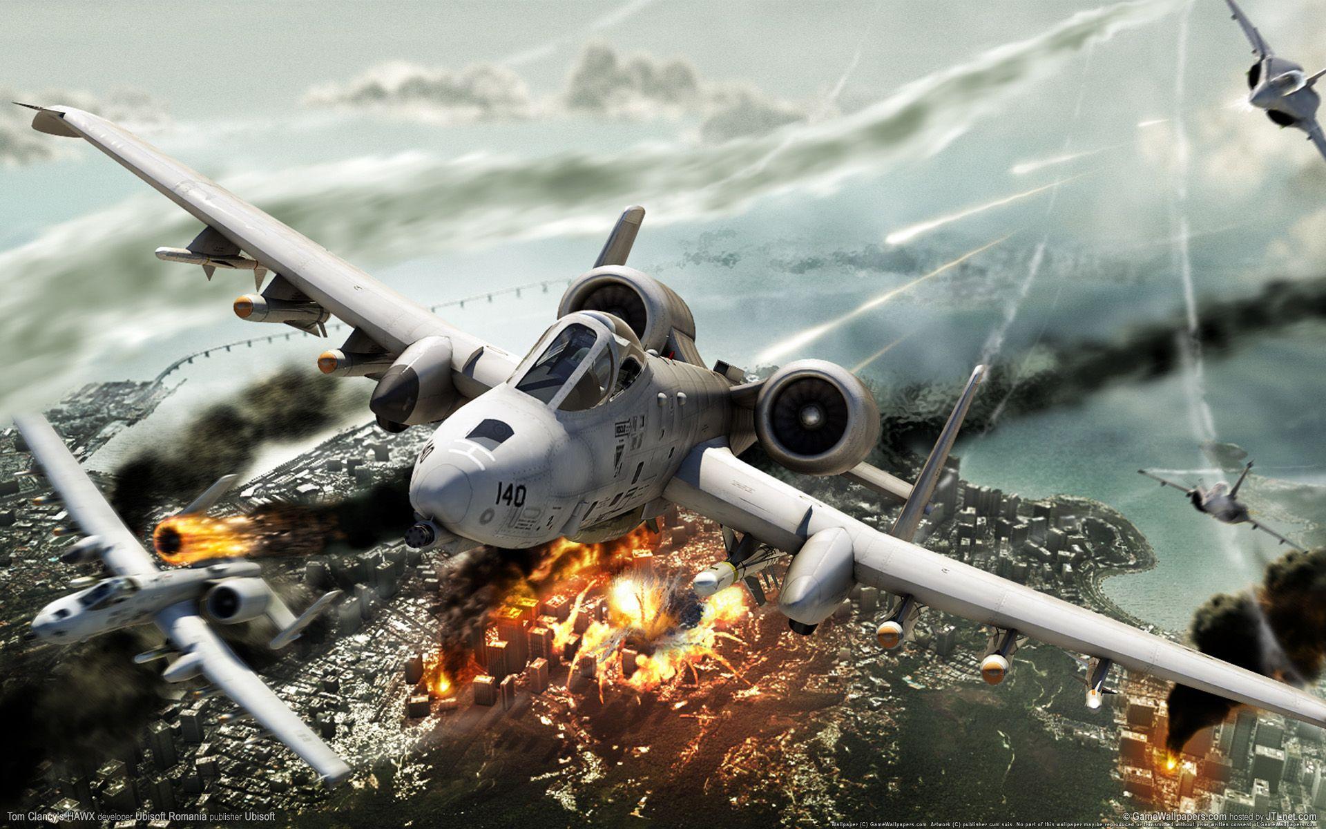 Tom Clancy's HAWX   Art: Video Games   Fighter jets