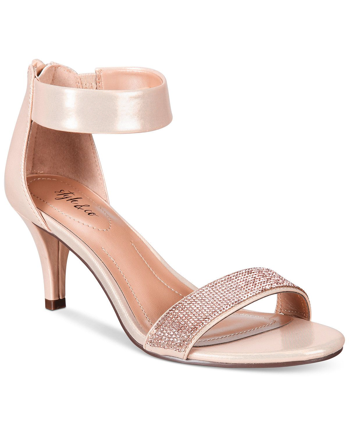 Phillys Two-Piece Evening Sandals