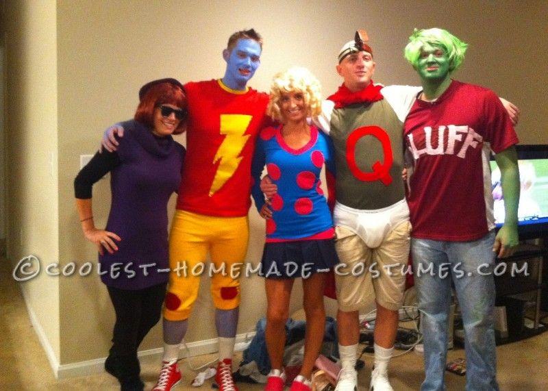 coolest doug  homemade group halloween costume