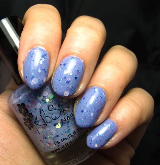 KB Shimmer Periwinkle in Time