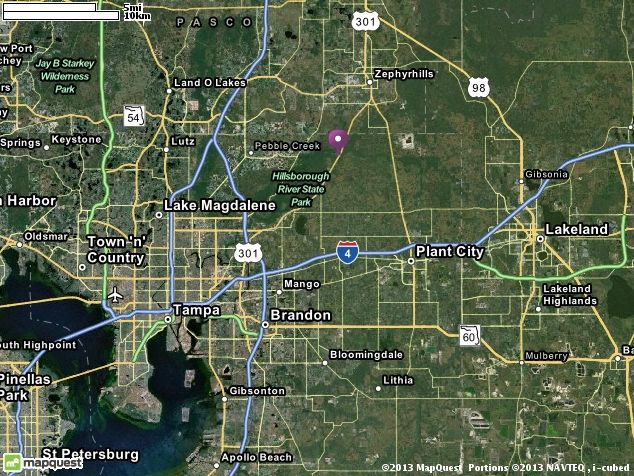 N Us Highway Thonotosassa FL Directions - Us route 301 map