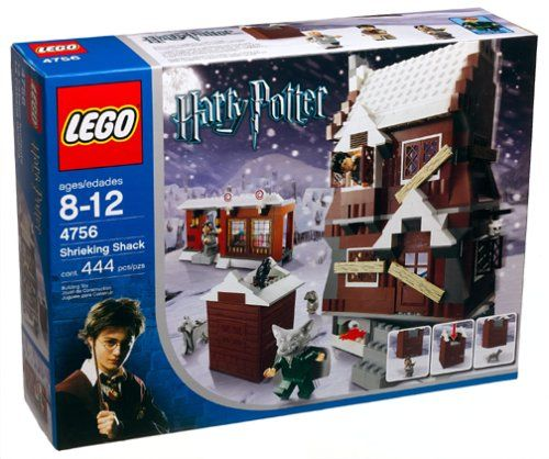 Solve The Mystery Of The Shrieking Shack With This Harry Potter Based Lego Building Set The Secret Hide Lego Hogwarts Lego Harry Potter Harry Potter Lego Sets