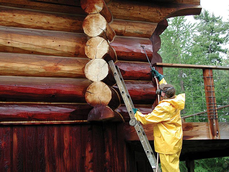 Staining your log cabin is more than just an aesthetic for How to stain log cabin