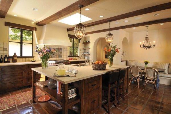 Spanish Style Kitchen - Beautiful Design Ideas You Can Borrow ...