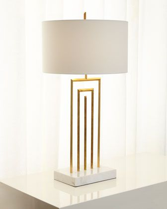 John richard collection labyrinth table lamp
