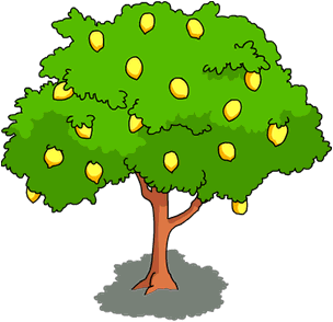 Lemon Tree The Simpsons Tapped Out Wiki Clipart Tree Clipart Art Wallpaper Clip Art