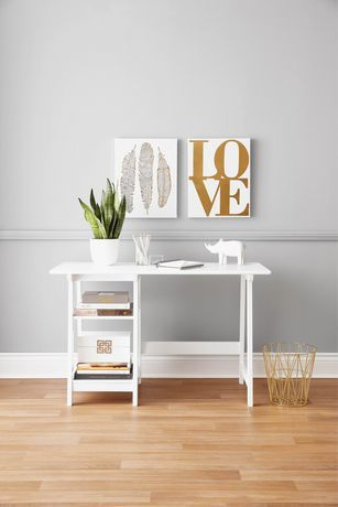 Hometrends Study Desk White Study Desk Home Office Accessories Home Office Space