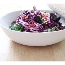 red cabbage salad , Nosh This | Progressive Nectar