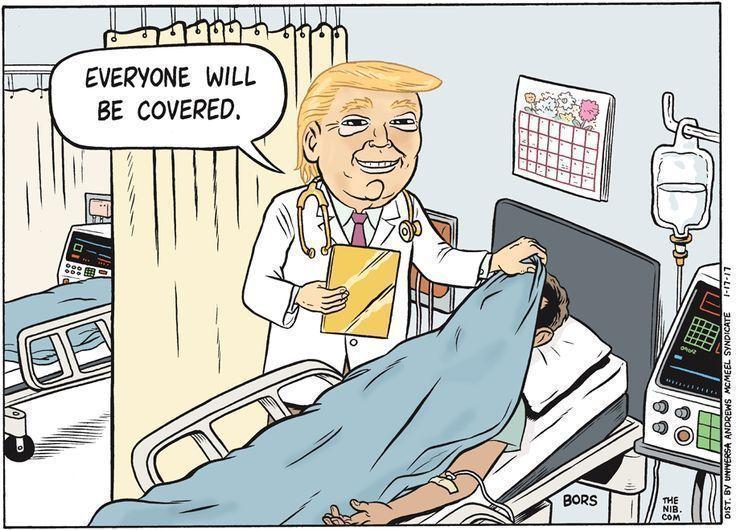 Trump wants the NHS 6bed0d38dd303b51589803c435973f91