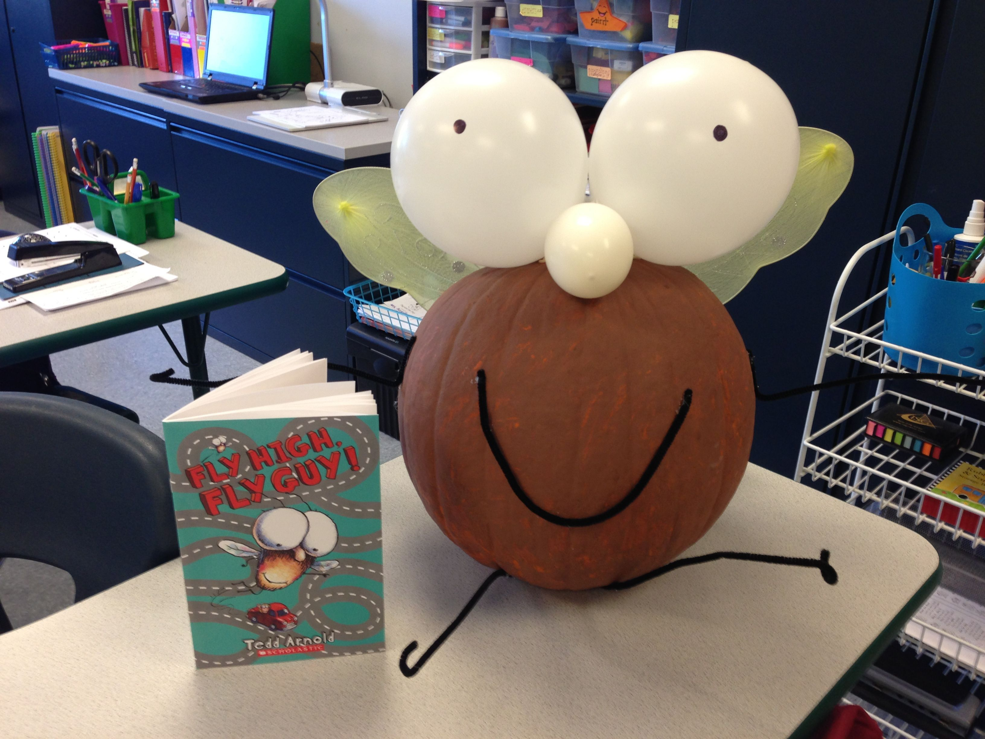 Fly Guy Pumpkin Made By My First Graders