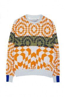 Preen by Thornton Bregazzi flare sweatshirt