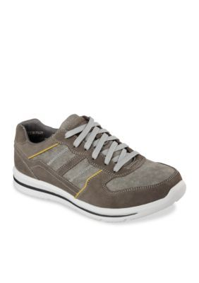 Skechers Olive Green Frazer Lace-Up Sneakers