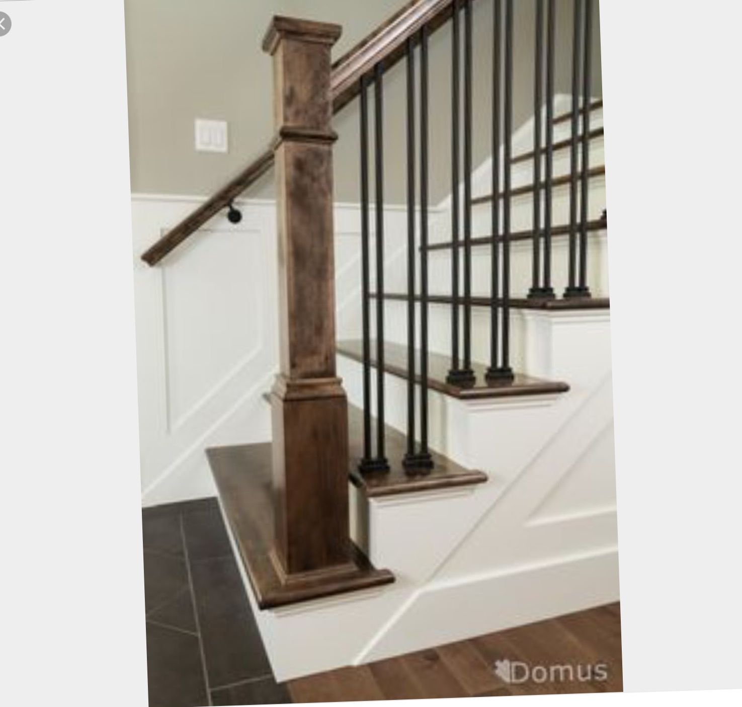 Iron Spindle Staircase, Staircase Spindles, Iron Spindles, Bannister, Metal Stair  Spindles, Garage Stairs, Foyers, Mud Rooms, Foyer