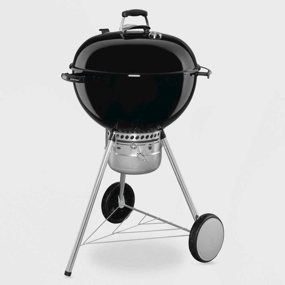 Weber Master Touch 22 Charcoal Grill Black Model 14501001 Charcoal Grill Weber Charcoal Grill Grilling