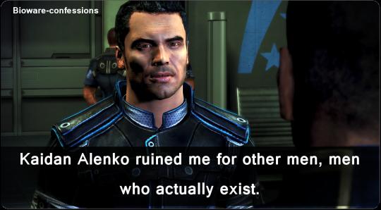 Tumblr-#Kaidan Alenko#Mass Effect#Ashley/Kaidan week