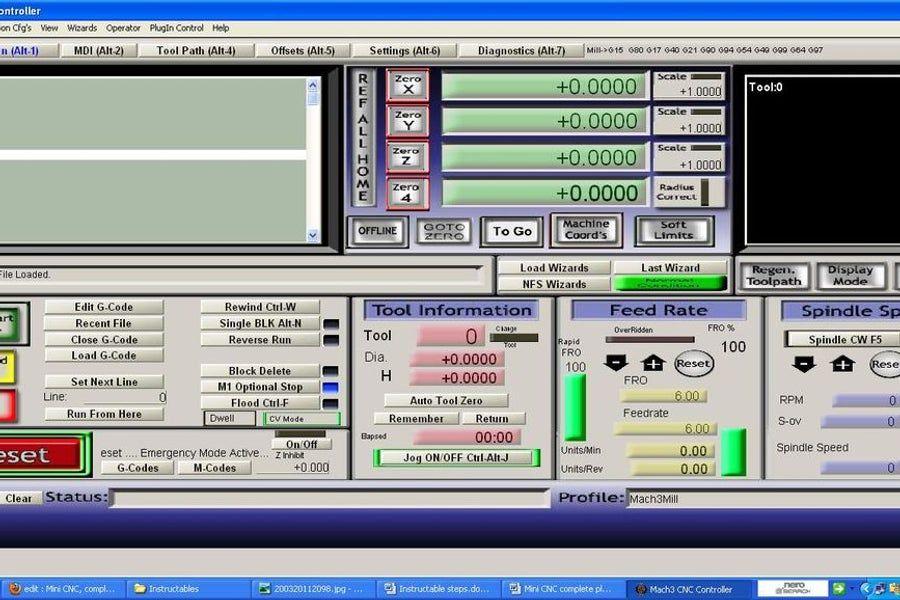 Mini CNC Router, Complete Plans and Instructions Diy cnc