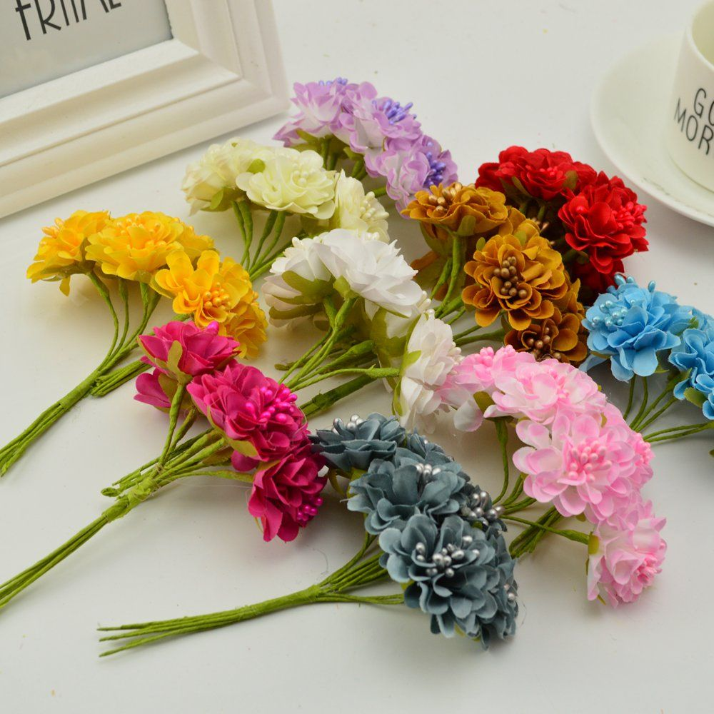 Find more artificial dried flowers information about 18 pcs stamen find more artificial amp dried flowers information about 18 pcs stamen silk daisy bouquet artificial mightylinksfo