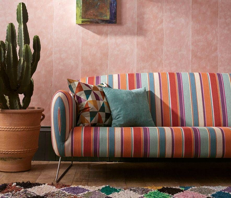 Osborne And Little Manarola Stripe W7214-01 Wallpaper | 2018 ...