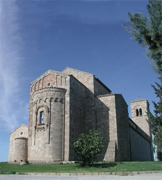 Santuario anglona - Basilicata - Italy