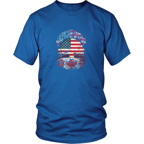 Canadian T-shirt - American grown - Canadian roots