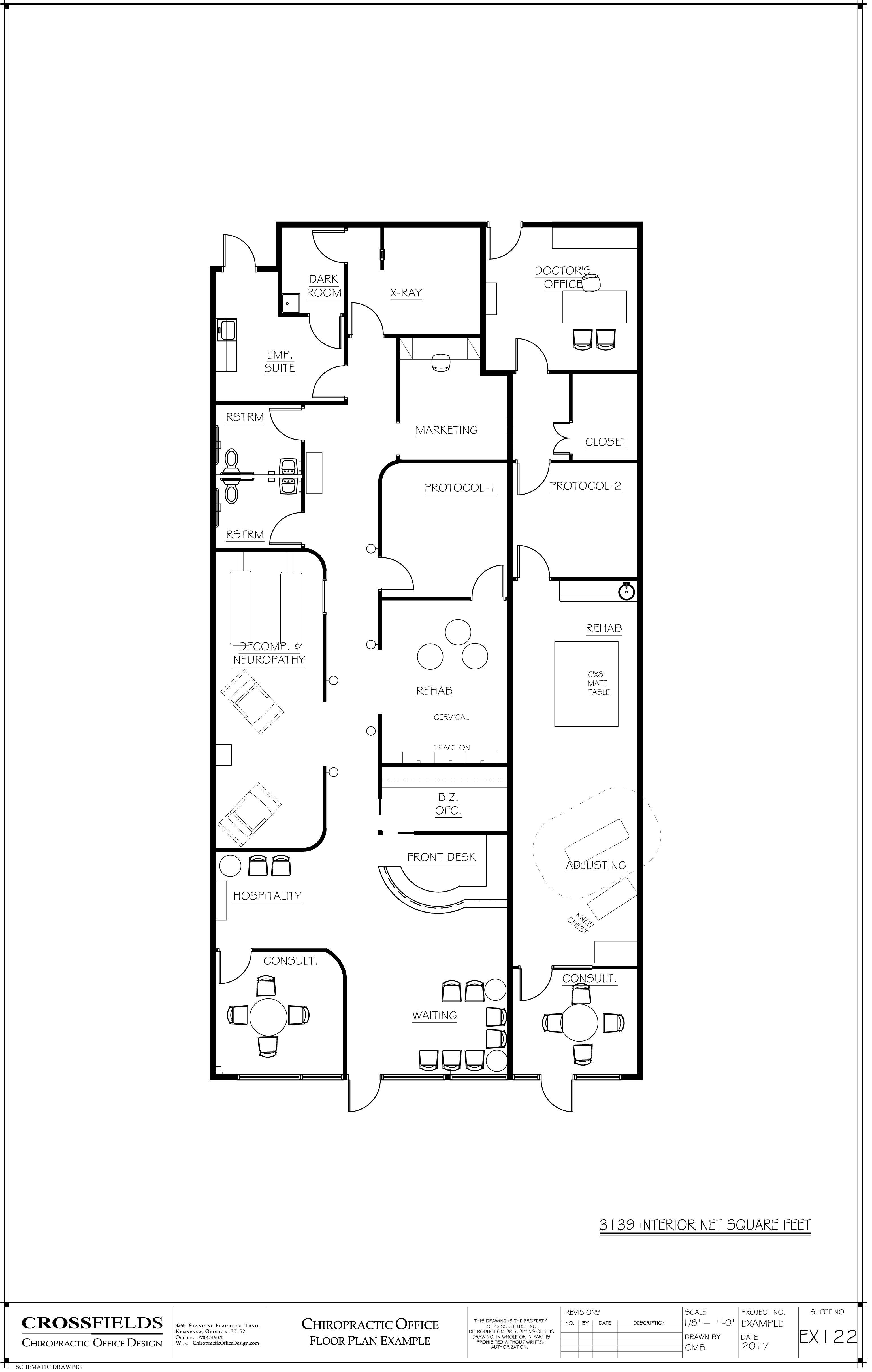 Chiropractic Office Floor Plans Versatile Medical Office Layouts Office Floor Plan Floor Plans Custom Floor Plans