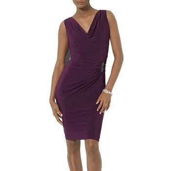 Ralph Lauren Raisin Purple Cocktail Dress from Royal Tag. dresslover.com.au