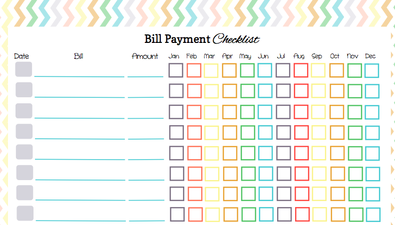 Keep Your Bill Due Dates Straight With These Free Calendar Templates