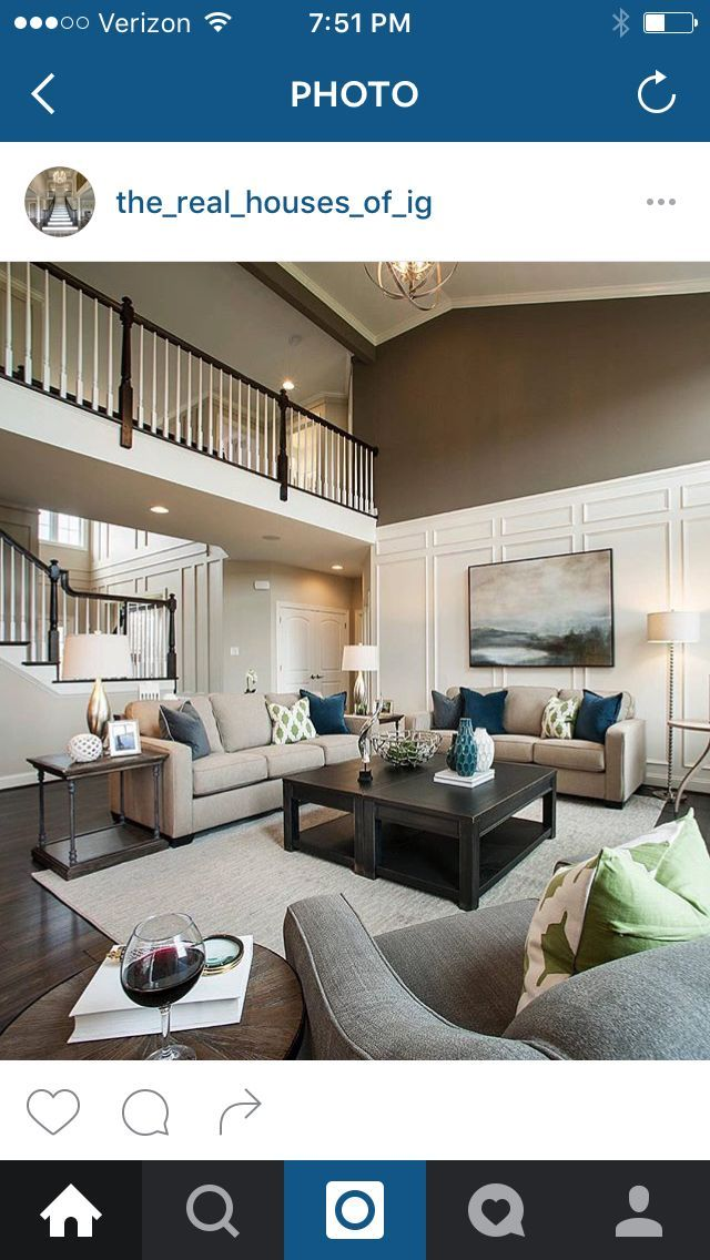 The Vistas At Highland Ridge Transitional Living Room Part 96