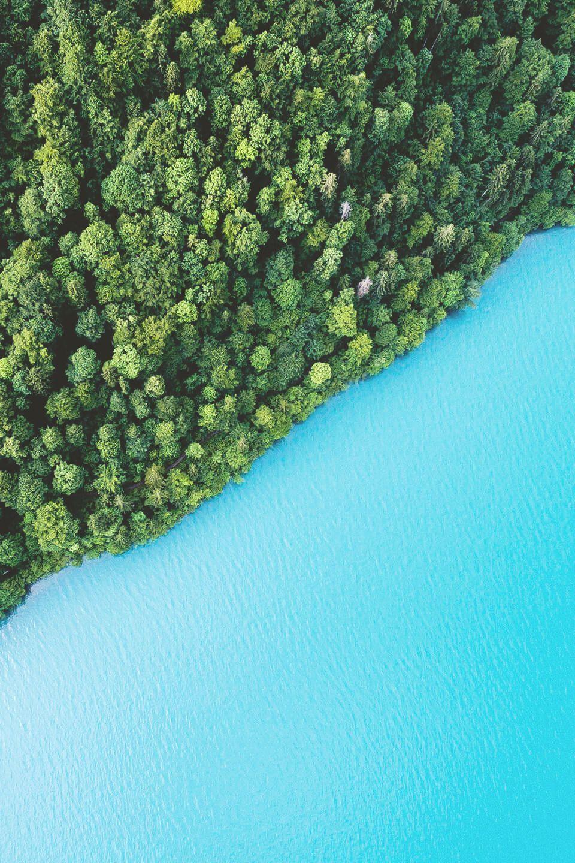 """lagunavibe """" Lake Brienz, Switzerland """" Aerial photo"""